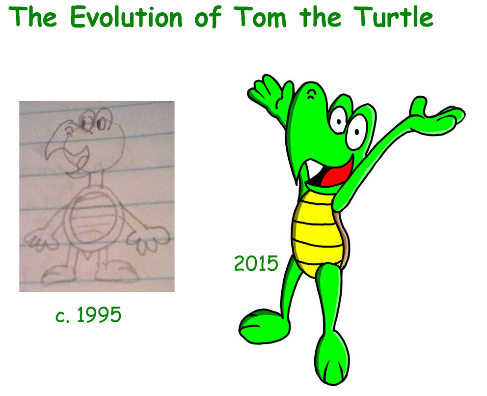The Evolution of Tom the Turtle by Al-Guien