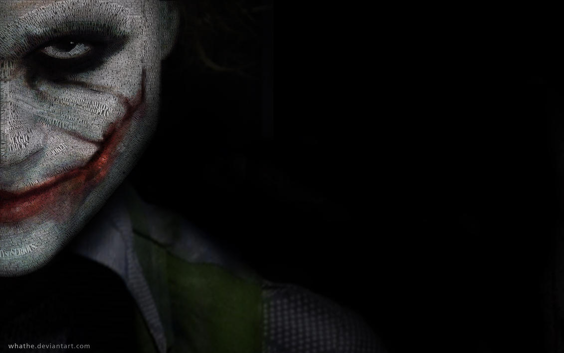 the joker- wallpaperwhathe on deviantart