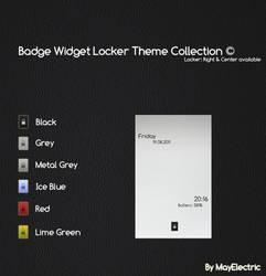 Badge Widget Locker Theme by MayElectric