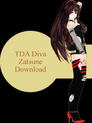 TDA Diva Zatsune - Download by LuxSeraphid