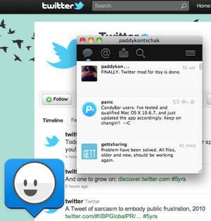 Twitter for Itsy
