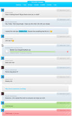 Bubble Gum Skype Chat Style by CapnGoat