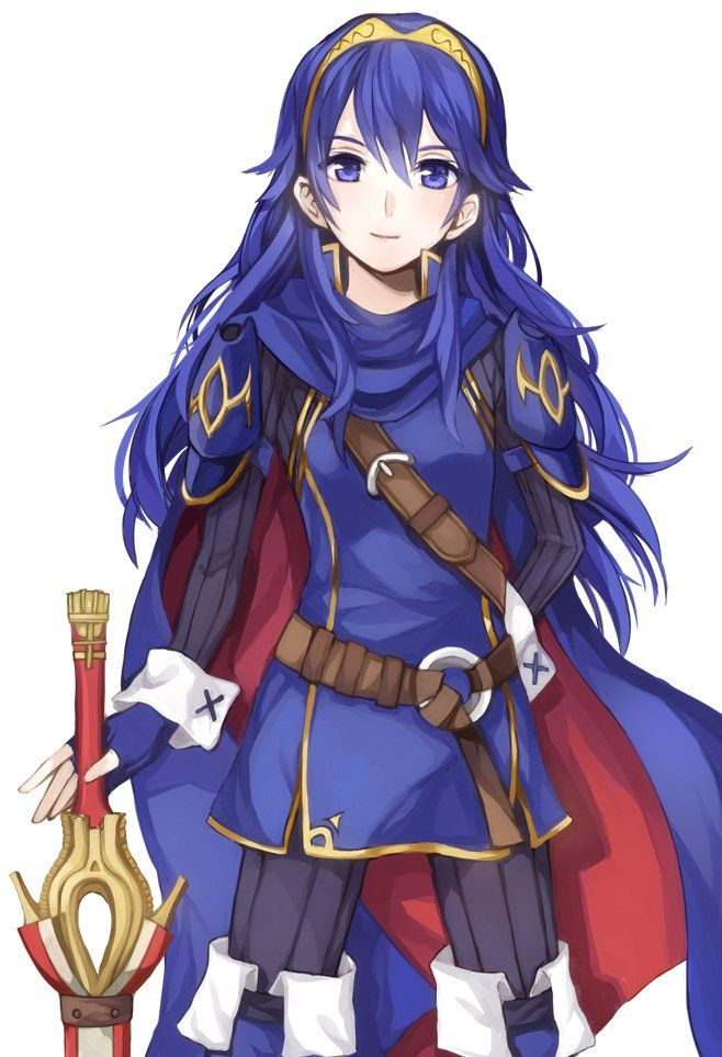 Male Reader x Lucina - Your Blessing by CaptainRedDA on