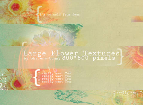 Large Flower Textures 05