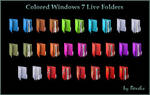 Colored Windows 7 Live Icons
