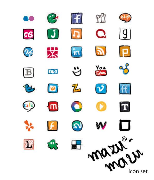 mazu-mazu ikonki