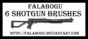 shotgun brushes by falabogu