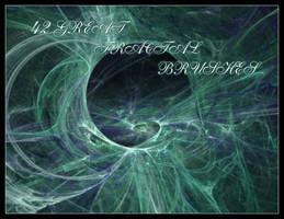 Great fractal brushes 6 by Oktanas