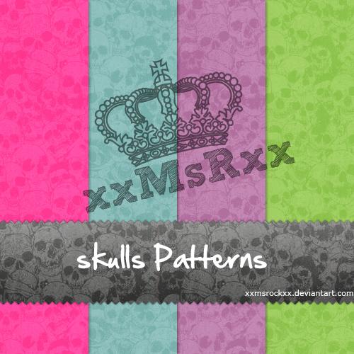 Skulls by xxmsrockxx