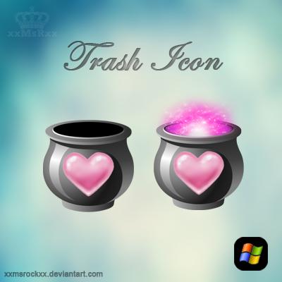trash icon by xxmsrockxx