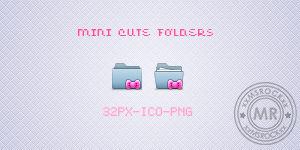 Mini Cute Folders