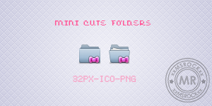 Mini Cute Folders by xxmsrockxx