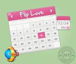 Flip Love_xwidget