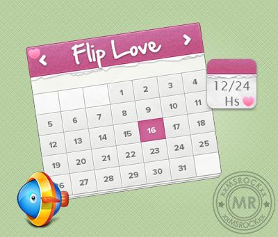 Flip Love_xwidget by xxmsrockxx