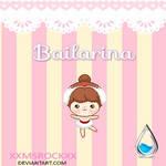Bailarina [ Skin Decorativo ]