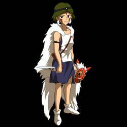Princess Mononoke WIP Animation