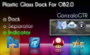 Plastic Glass For OBdock 2.0