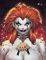 FEM PennyWise Color + animation by RyanKinnaird