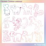 Chinese Zodiac Animal Brushes