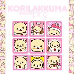 |Korilakkuma|png by AsianWorld