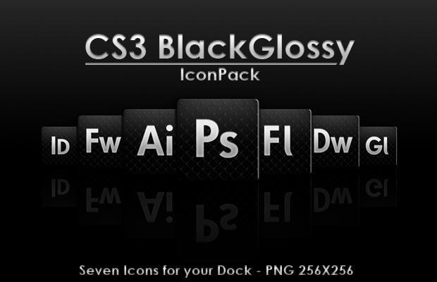 CS3_BlackGlossy by badendesing