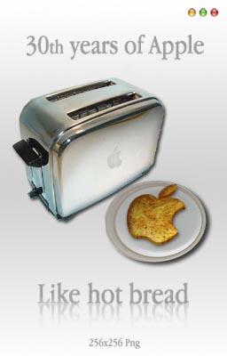 30years of Apple by badendesing