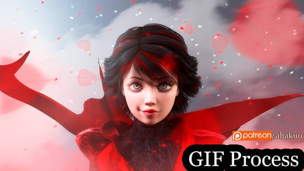 Ruby Rose - RWBY (Process)