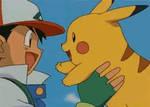 Ash and Pikachu gif