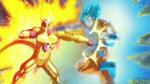 Goku vs Golden Frieza gif