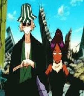 Funny Kisuke and Yoruichi gif