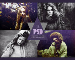 PSD 12: Passionate Romance. by William-BR