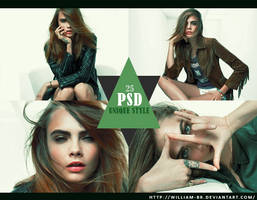 PSD 25 - Unique Style by William-BR