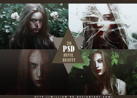 PSD 26: Devil Beauty by William-BR