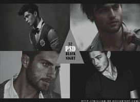 PSD 32: Black Night by William-BR