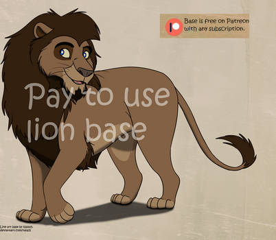 Suave Lion Base - Adopts, OCs, etc - P2U