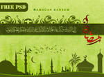 Ramadan Free PSD Layers