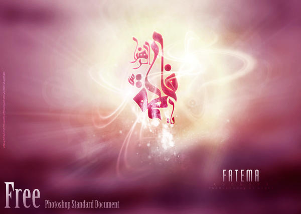 Fatema Birthday 2010 PSD by alsenaffy