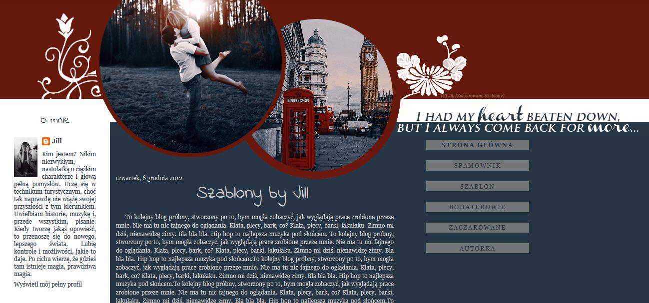 Szablon692 by SzablonyJill