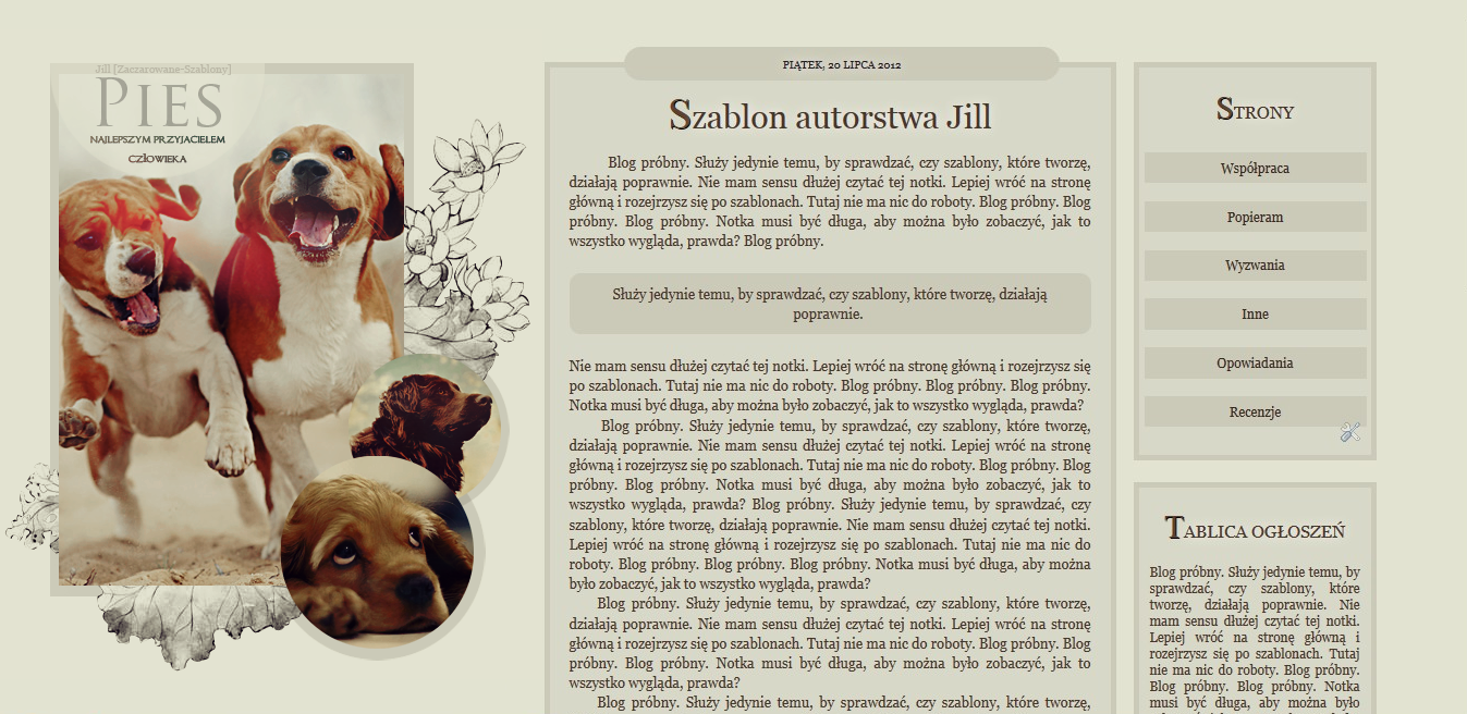 Szablon861 by SzablonyJill