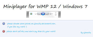 Miniplayer for WMP12 - Win7