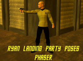 Ryan Landing Party Poses - Phaser