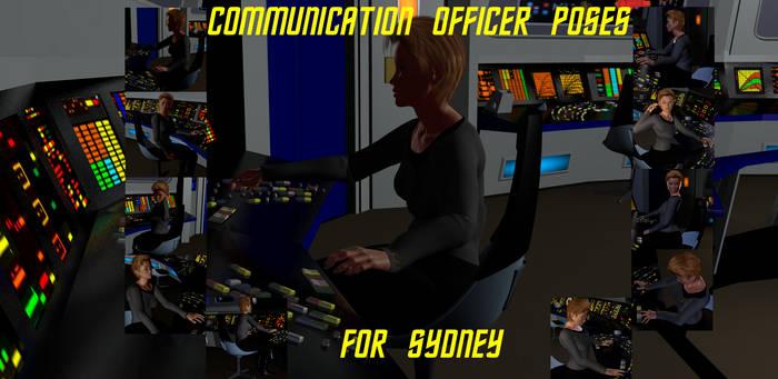 Communication Officer Poses for G2 Females Take 2