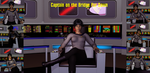 Captain on the Bridge - Dawn by ssgbryan