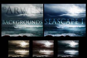 PACK - SEASCAPES BACKGROUNDS I by ArwenArts