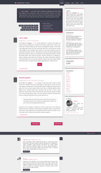 Blogspot template Let's play