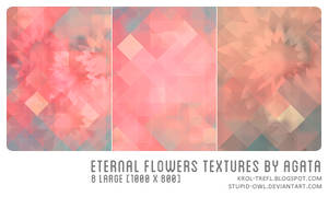 Eternal flowers textures