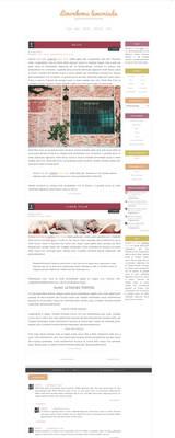 Blogger template Kingdom of pastels
