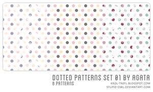 Dotted patterns set 01