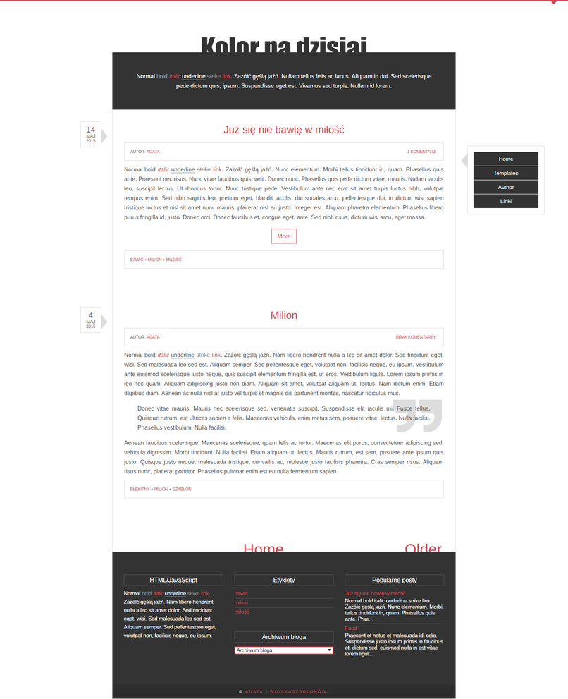 free blogger template simple by stupid owl on deviantart