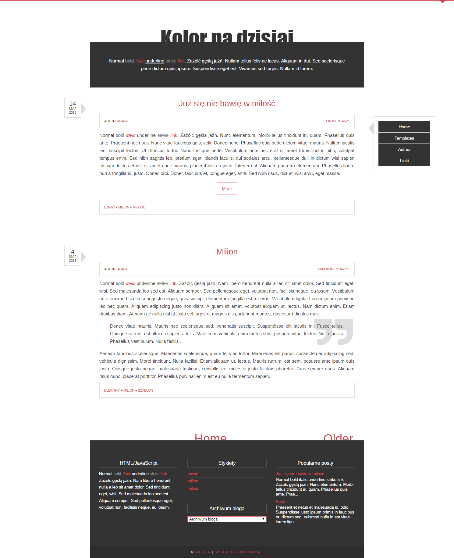 FREE Blogger Template Simple By Stupid-owl On DeviantArt